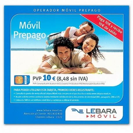 LEBARA movil - SIM карта