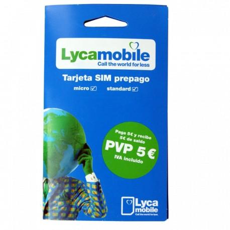 Prepaid SIM карта LYCA mobile