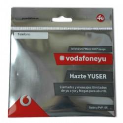 Vodafone Yuser - Prepaid SIM карта, 4G интернет