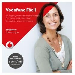 Vodafone Fácil - Prepaid SIM карта