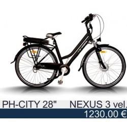 """Электровелосипед: Egarbike PH-City 28"""" Shimano Nexus 3"""