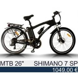 """Спортивный Электровелосипед: Egarbike MTB 26"""" - Shimano Tourney 7"""