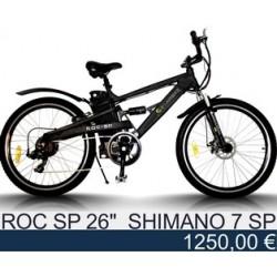 """Электровелосипед: Egarbike ROC-SP 26"""" Shimano tourney 7"""