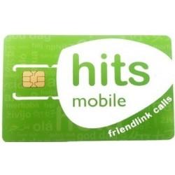 Hits Mobile - tarjeta Sim prepago