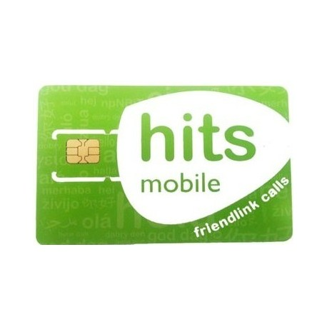 SIM карта HITSMOBILE
