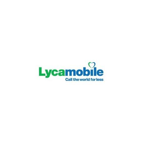Пополнить баланс SIM карты Lycamobile