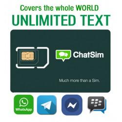 ChatSim - Безлимитное общение по всему Миру в самых популярных мессенджерах