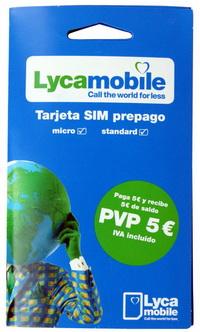 СИМ Карта рекомендуется для национальных звонков по Испании и международных звонков из Испании, 3G Интернета