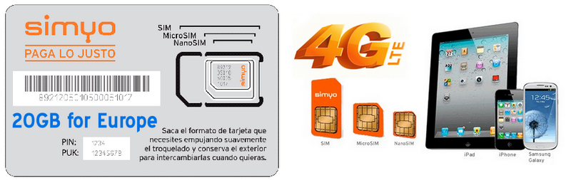 5GB-intetnet-simyo-4G-SIM-CARDS-FOR-SPAI