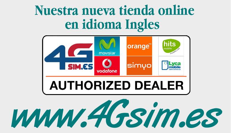 Nuestra nueva tienda online en idioma Inglés